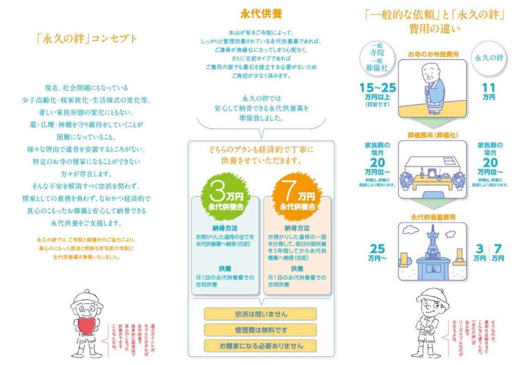 豊橋市NPO法人三つ折りリーフレット冊子デザイン